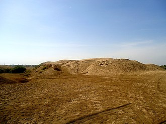 Kish (Sumer) - Image: An ancient mound at Kish, Babel Governorate, Iraq