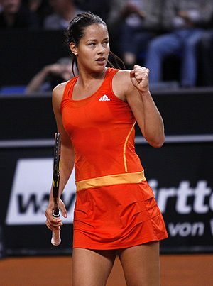 Ana Ivanovic - Ivanovic at the 2010 Porsche Tennis Grand Prix