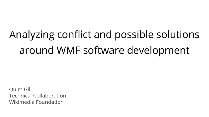 File:Analyzing conflict and possible solutions around WMF software development.pdf