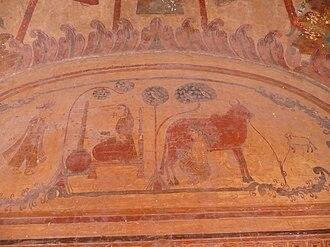 Payal, India - Ancient Wall Painting