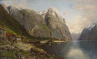 Anders Askevold - Image: Anders Askevold Bakka i Nærøyfjorden