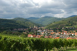 View of Andlau