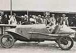 André Lombard sur Salmson, futur vainqueur du Grand Prix de l'U.M.F. Cyclecars 1921.jpg