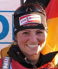 Andrea Henkel Ruhpolding 2012