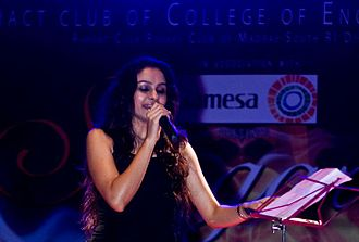 Andrea Jeremiah - Andrea Jeremiah performing at Sangarsh a concert for a cause (2009)