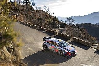 2018 Monte Carlo Rally