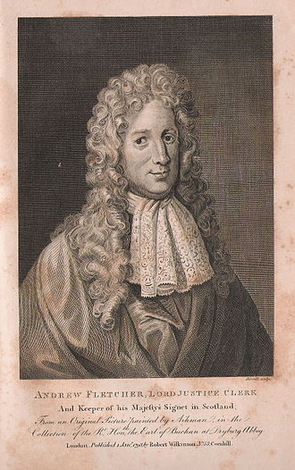 Commissioner (Scottish Parliament) - Fletcher of Saltoun was elected in 1678 as a Commissioner for Haddingtonshire.