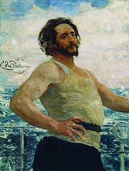 Andreyev by Repin 1912