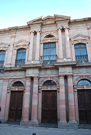San Miguel de Allende - Angela Peralta Theater, built in the early 20th century