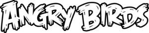 Angry Birds - The Angry Birds wordmark, used on video games, merchandise and television shows from April 2010 to present