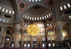 Kocatepe Mosque - Image: Ankara Kocatepe Camii Innen