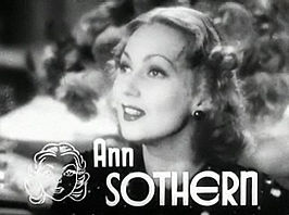 Ann Sothern in Dangerous Number (1937)