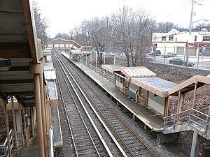 Annadale (Staten Island Railway station) - Southbound platform