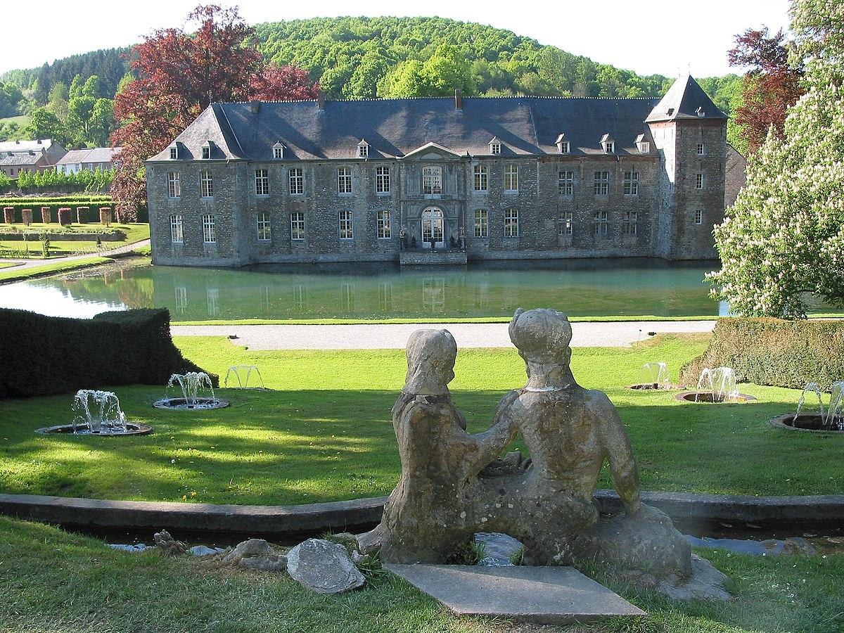 Annevoie castle wikipedia - Jardin suspendu brussels montpellier ...