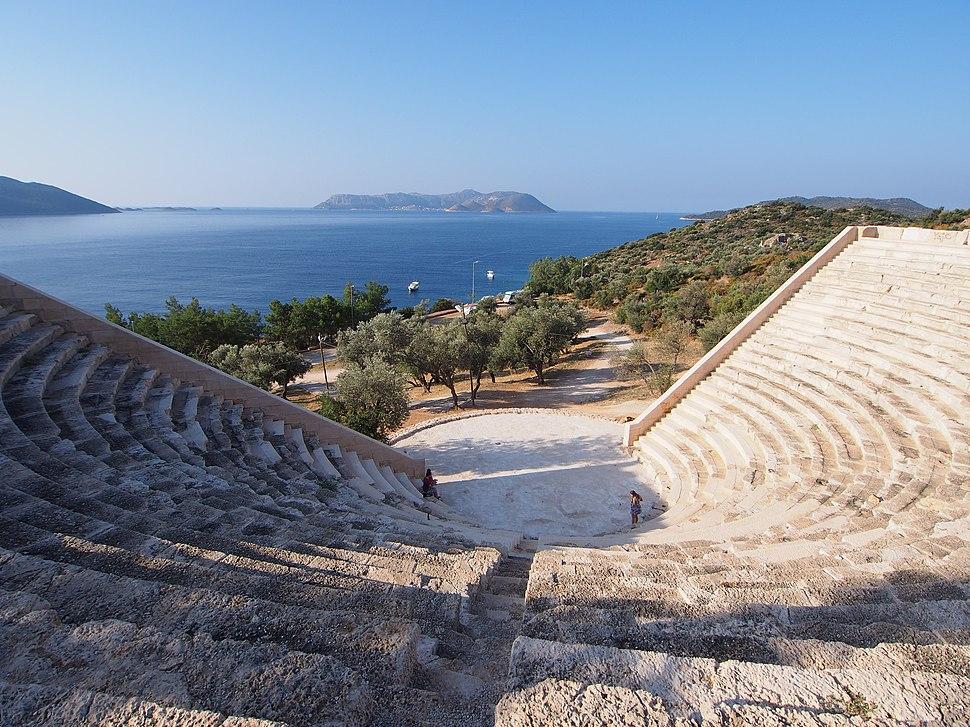 Antiphellus Ancient Theatre - 2014.10 - panoramio