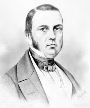 Antônio Peregrino Maciel Monteiro, 2nd Baron of Itamaracá - A drawing depicting Monteiro