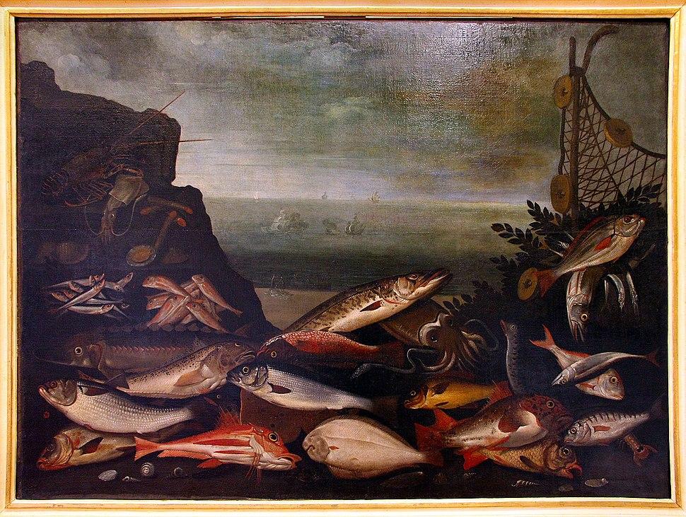 Antonio tanari, pesci, 1610-30 ca.