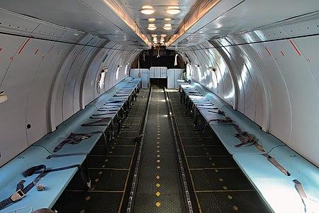 Transportplane Antonov-26 cargobay
