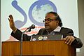 Anupam Basu - Panel Discussion - Collaboration with Academic Institutes for the Growth of Wikimedia Projects in Indian Languages - Bengali Wikipedia 10th Anniversary Celebration - Jadavpur University - Kolkata 2015-01-10 3438.JPG