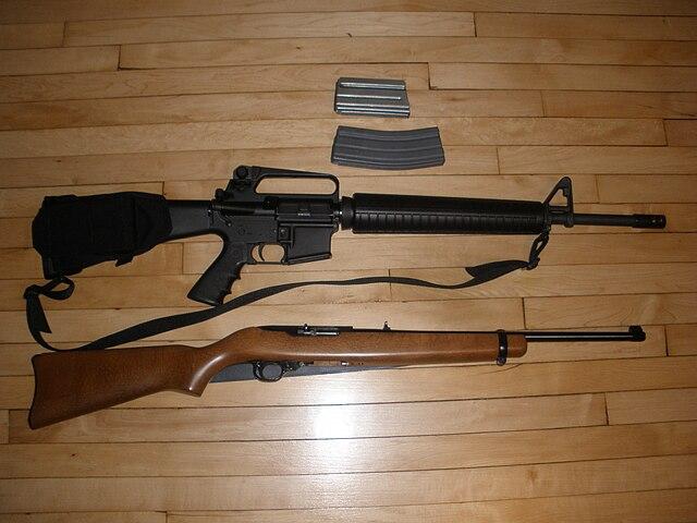 AR-15 vs. Ruger 10/22