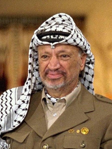 450px-Arafat_by_Yaakov_Saar.jpg