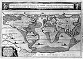 Arca Noe, geography of world after flood, by A. Kircher. Wellcome L0013366.jpg