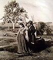 Archivo General de la Nación Argentina 1890 aprox, Paisanos en el campo.jpg