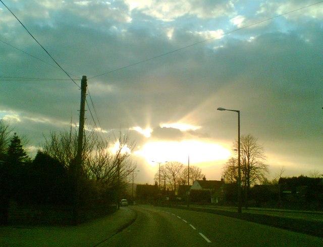 Ardsley sunburst - geograph.org.uk - 747654