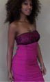 Aretha henry pink dress.png