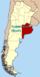 Lage der Autonomen Stadt Buenos Aires