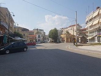 Argos Orestiko - Central square