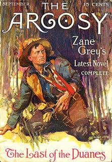 <i>Last of the Duanes</i> (novel) novel by Zane Grey