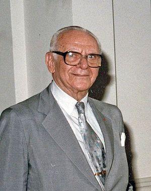 Armand Hammer - Hammer in 1982