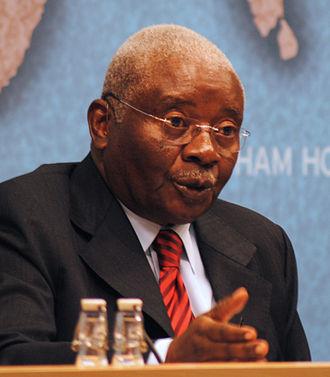 Armando Guebuza - Image: Armando Guebuza, President of Mozambique (cropped)