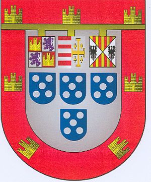 Duke of Guimarães - Personal Coat of Arms of Infante Duarte I, 4th Duke of Guimarães.