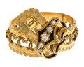 Armband av guld med briljanter och emalj, 1860-tal - Hallwylska museet - 110137.tif