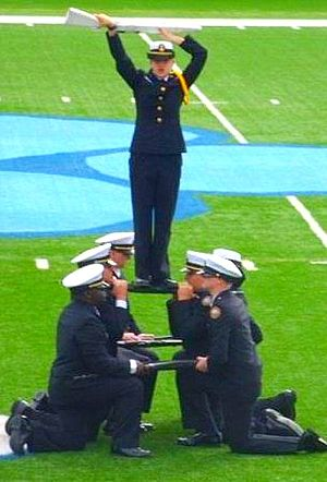 Camden County High School (Georgia) - Armed Guard performance