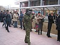 Armenian Presidential Elections 2008 Protest Mar 21 - Northern Ave military video recorder.jpg