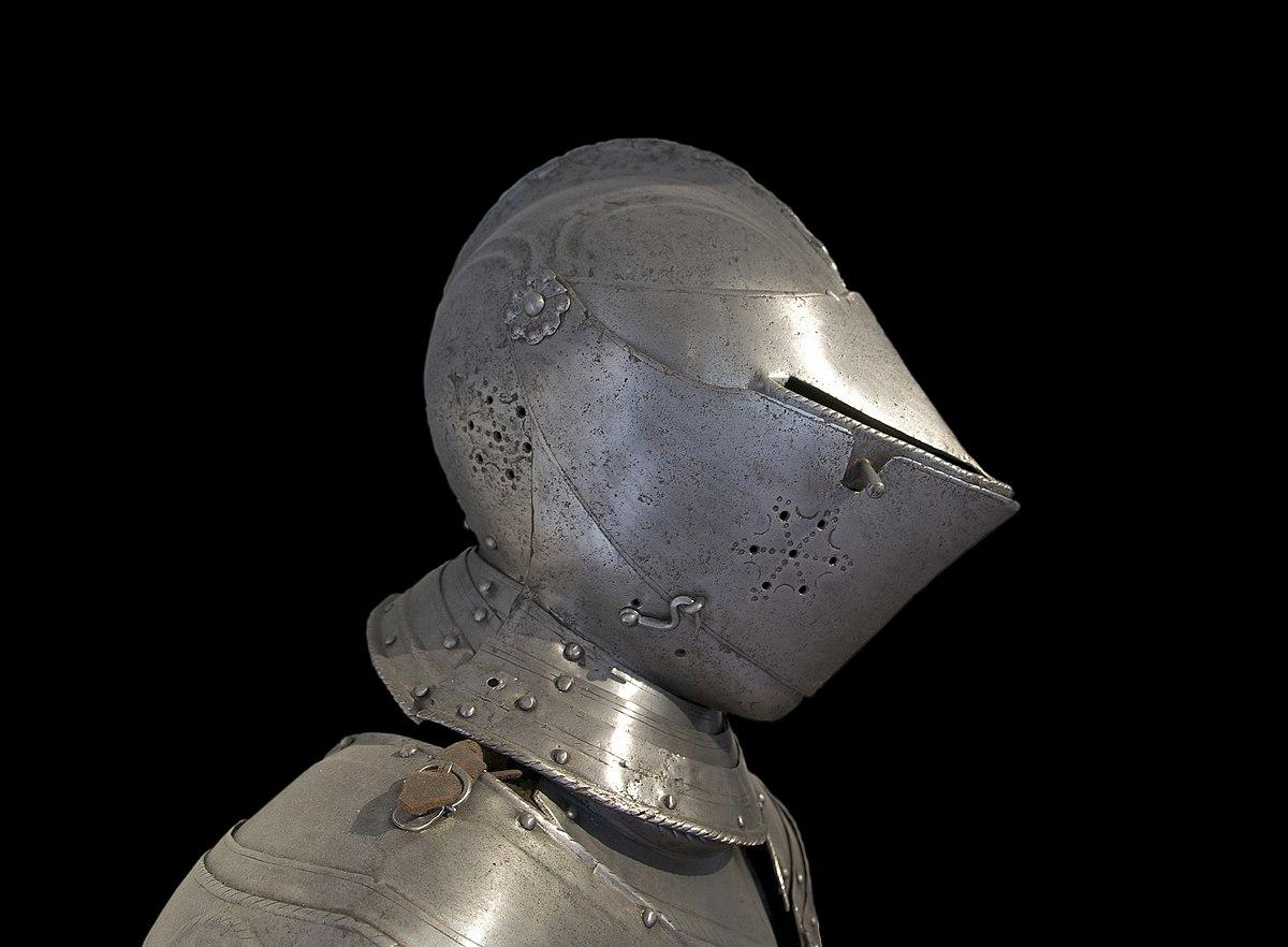 Armet (casque) — Wikipédia