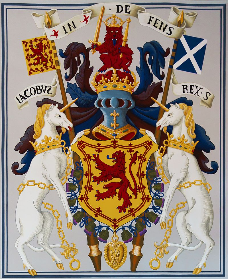 Arms of James V, from the King's Outer Hall, Stirling Castle (6056089317).jpg
