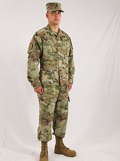 Army Combat Uniform battle uniforms worn by the United States Army beginning in 2004