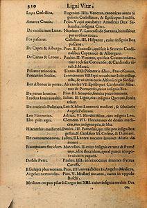 Arnold Wion - Lignum Vitae - 1595 - p310