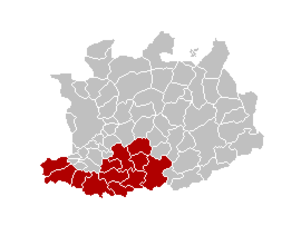 Arrondissement of Mechelen - Image: Arr Mechelen Locatie