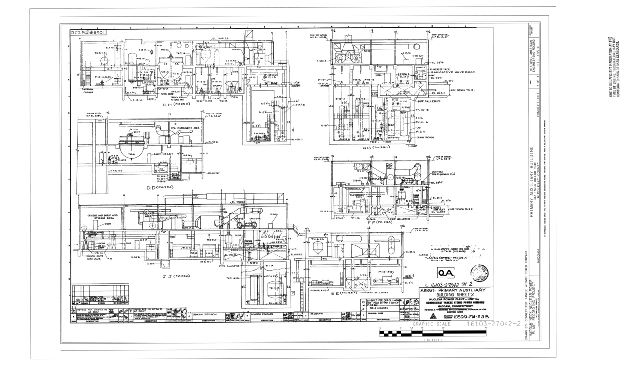 Filearrangement Primary Auxiliary Building Haddam Neck Nuclear Power Plant Diagram And Explanation 362 Injun Hollow Road Middlesex County