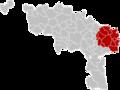 Arrondissement Charleroi Belgium Map.png