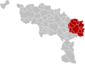 Arrondissement Charleroi Belgium Map.png