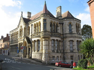 Victorian School of Art and Science at Stroud, Gloucestershire