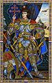 Arthur Szyk (1894-1951). In Comradeship of Arms series, Joan of Arc (1942), New York.jpg