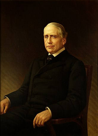 Arthur Pue Gorman - Gorman's senate portrait, by Louis P. Dieterich, 1911