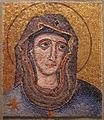 Artista romano della prima metà del XIII sec, testa di madonna.JPG